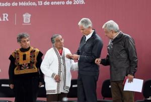 Andrés Manuel y Del Mazo Maza. Promesa cumplida.