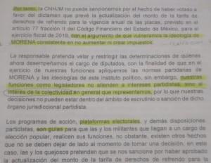 Así jusiticaron diputados de Morena la aprobación de la tenencia.