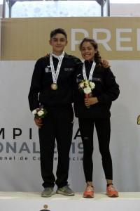 Oro en pentatlón moderno para EdoMéx en Olimpiada Nacional - Jun 12, 2019