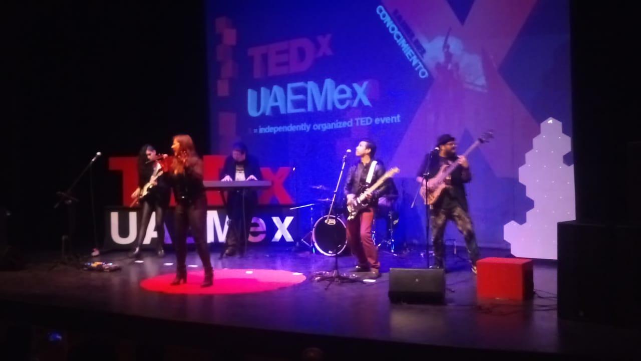 """MArs Rising estrenó su sencillo """"Fobos"""" para TEDx UAEMex"""