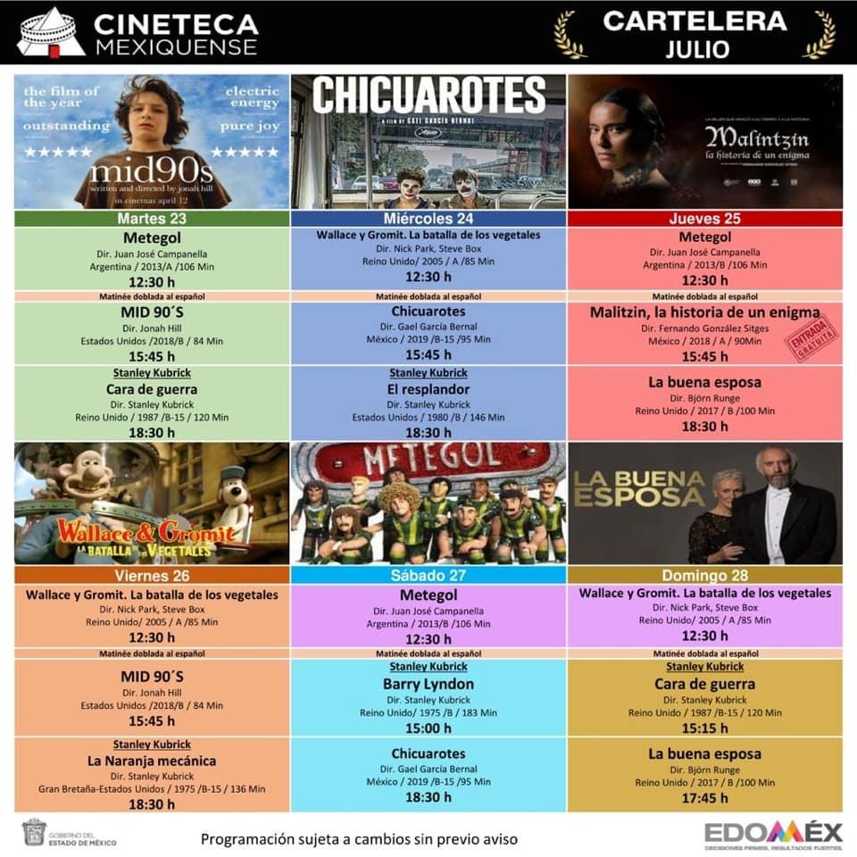 Fin de semana cultural en EdoMex - Jul 25, 2019