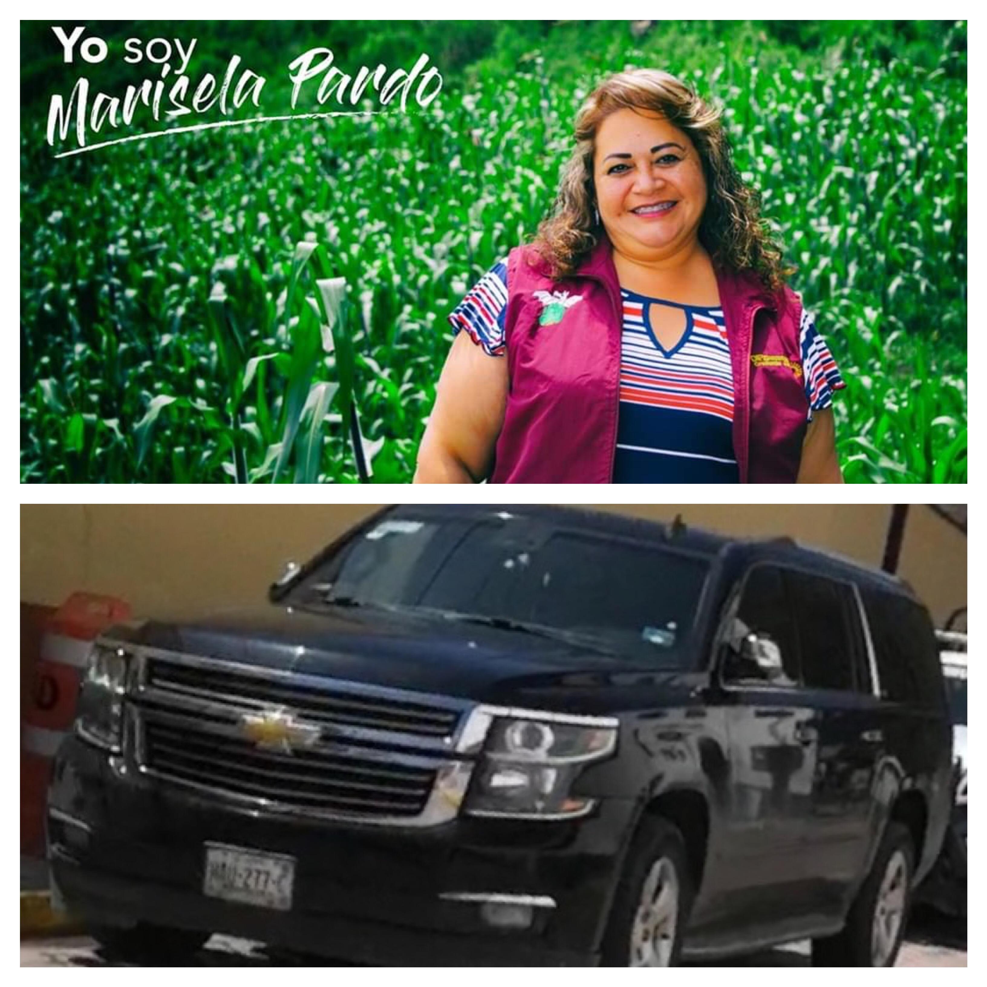 Marisela Pardo, presidenta del DIF Zinacantepec, de las milpas a la Suburban.