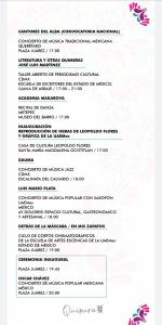 Se lleva a cabo la inauguración del festival Quimera - Oct 11, 2019