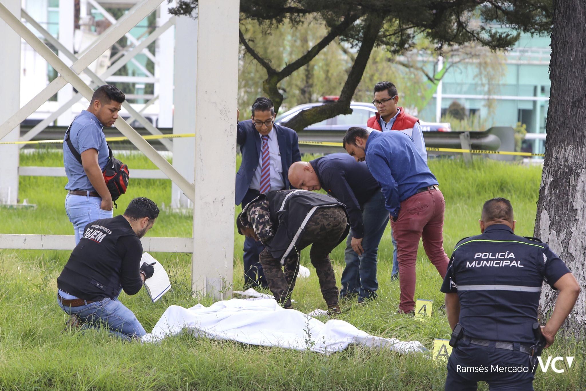 Hallan el cuerpo de un hombre en Paseo Tollocan - Nov 21, 2019
