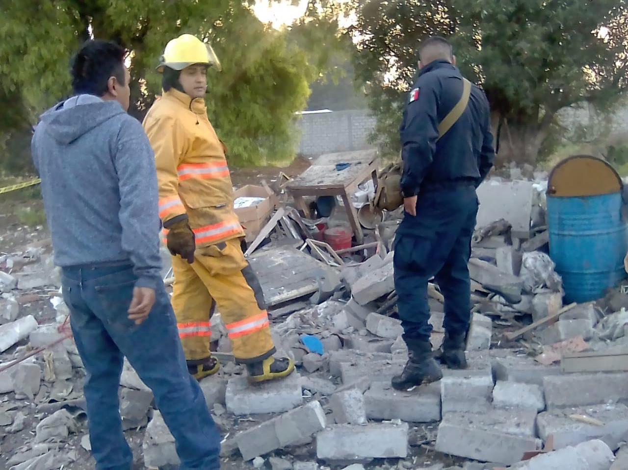 Registran una explosión en Tultepec. Fallece una persona - Abr 18, 2020
