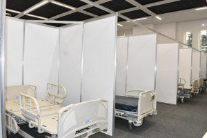 Convierten al Centro de Convenciones de Toluca en hospital para enfrentar Covid-19 - Abr 22, 2020