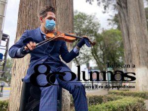 Dave Aaron, el violinsta de Toluca que sigue tocando pese a pandemia - Jun 22, 2020