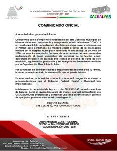 Alcanza Covid-19 a todos los municipios del Edomex - Jun 24, 2020