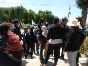 Vecinos de Calimaya se manifiestan contra administración municipal - Jun 2, 2020