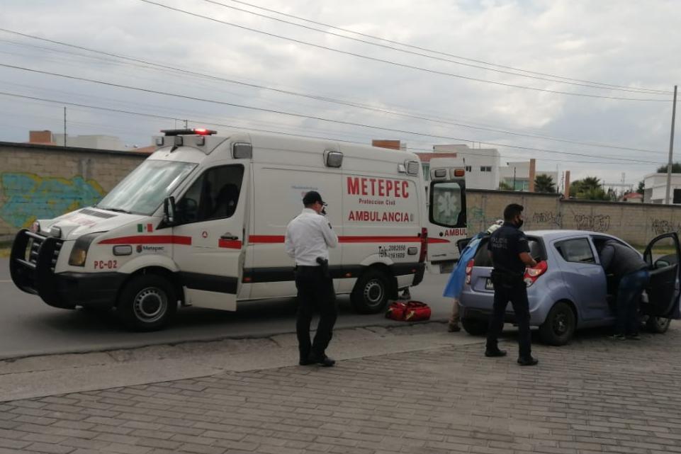 Asisten Policía y Protección civil en el nacimiento de un nuevo metepequense - Jul 21, 2020