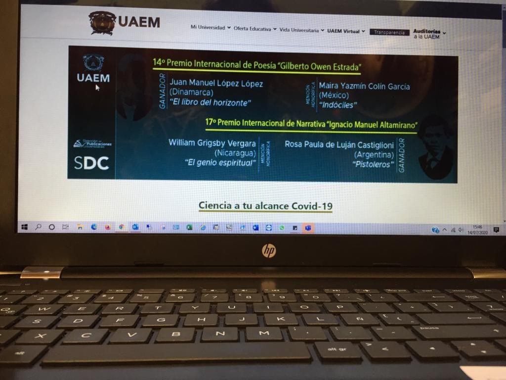 Un semestre difícil pero no perdido, en medio de la pandemia Isabel Gómez se prepara para examen de admisión - Jul 22, 2020