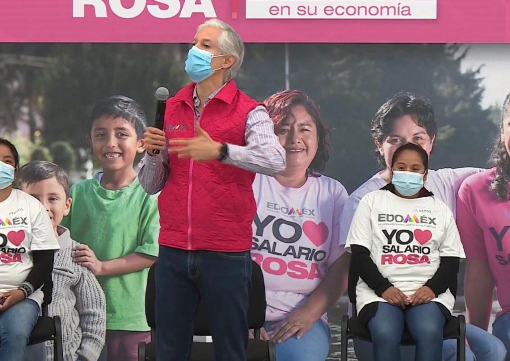 Reanuda Alfredo del Mazo entrega del Salario Rosa desde Santiago Tianguistengo - Jul 28, 2020