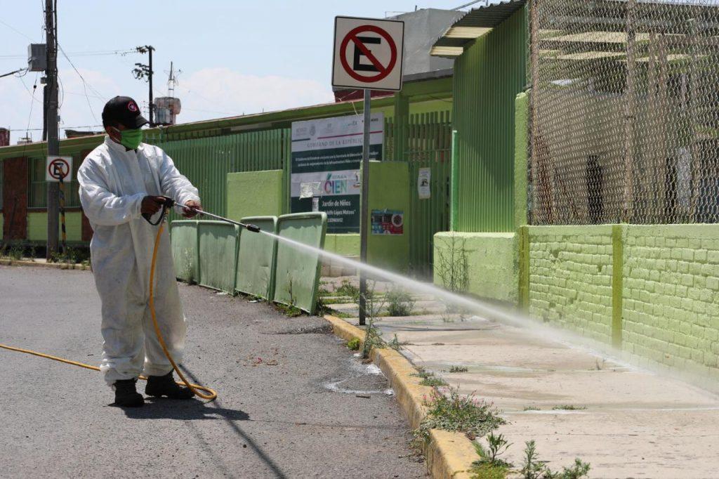 Se prepara Metepec para programa de sanitización de planteles educativos - Jul 29, 2020