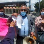 Se manifiestan abogados en Toluca, piden reapertura del TSJEM - Jul 8, 2020