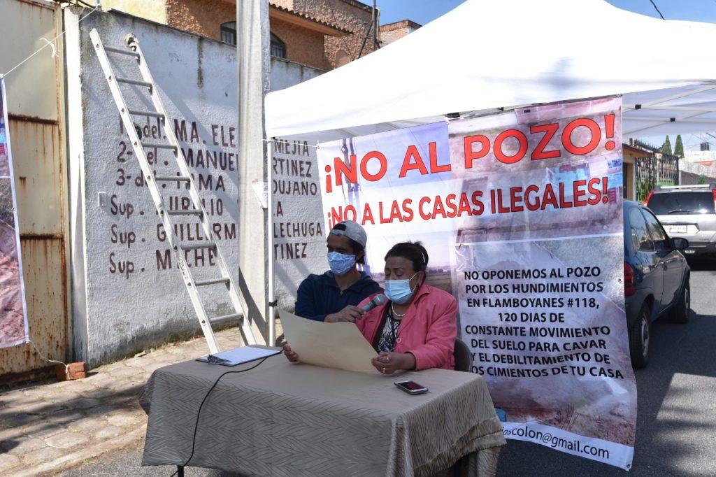 Se oponen Vecinos de Bosques Colón en Toluca a creación de pozo municipal - Ago 10, 2020