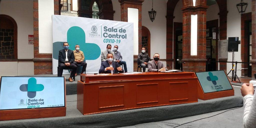 Suman 915 fallecidos por Covid-19 en Toluca - Ago 13, 2020