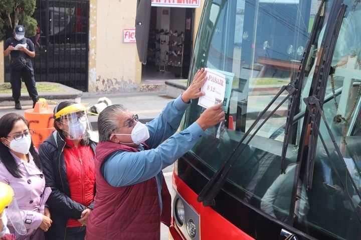 Bajan tarifa de transporte público en Santiago Tianguistenco - Ago 6, 2020