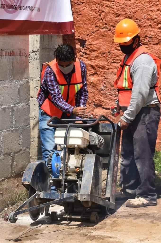 Continúa programa de obras públicas en Tenancingo - Ago 18, 2020