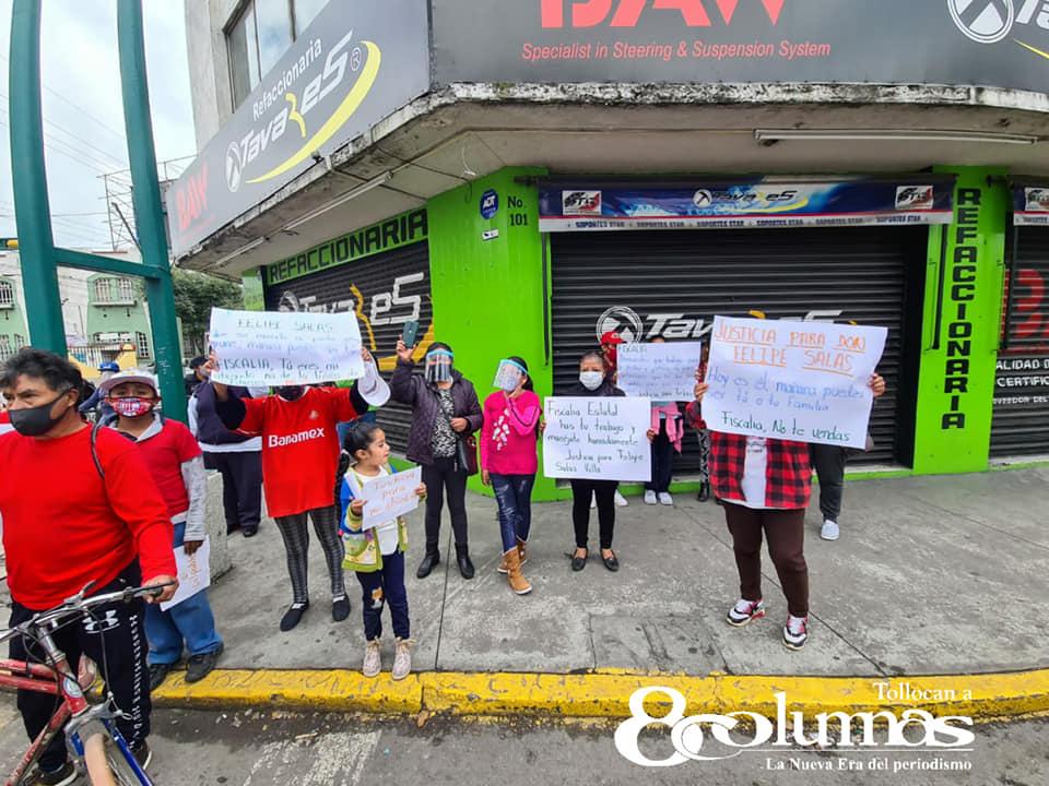 Rinden homenaje a don Felipe Salas, ciclista atropellado en Toluca - Sep 6, 2020
