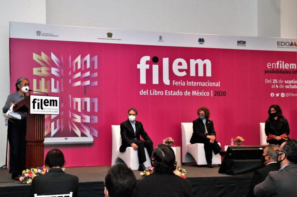 Inauguran 6ta Feria Internacional del Libro del Estado de México - Sep 25, 2020