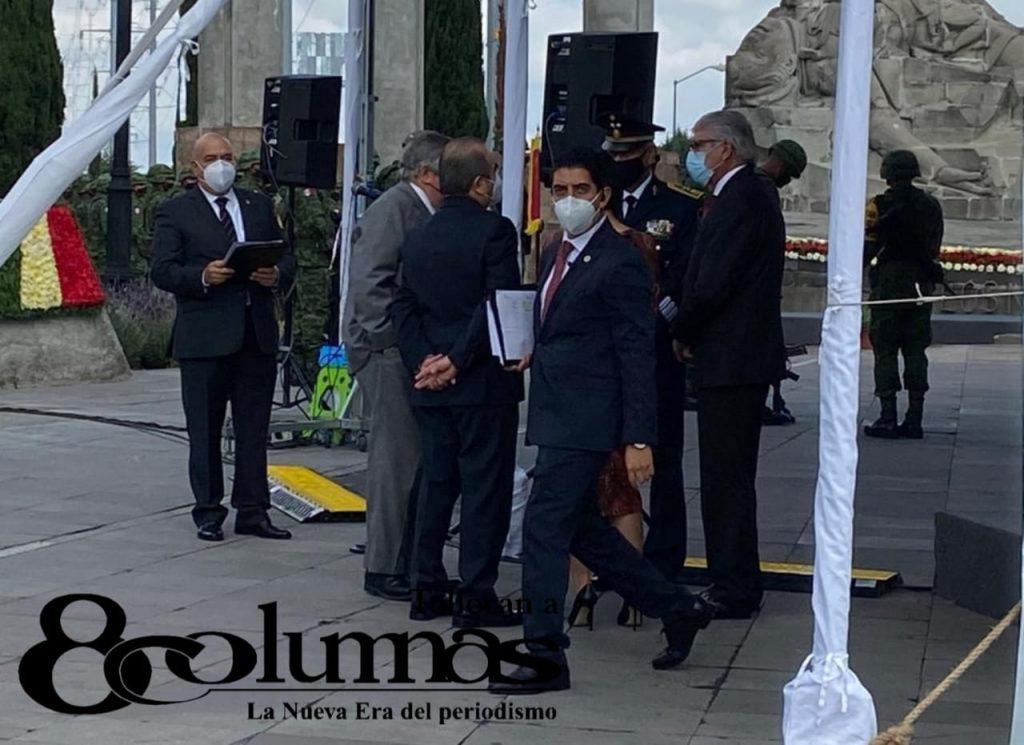 Encabeza Alfredo del Mazo ceremonia conmemorativa por la Justa Heroica de los Niños Héroes - Sep 13, 2020