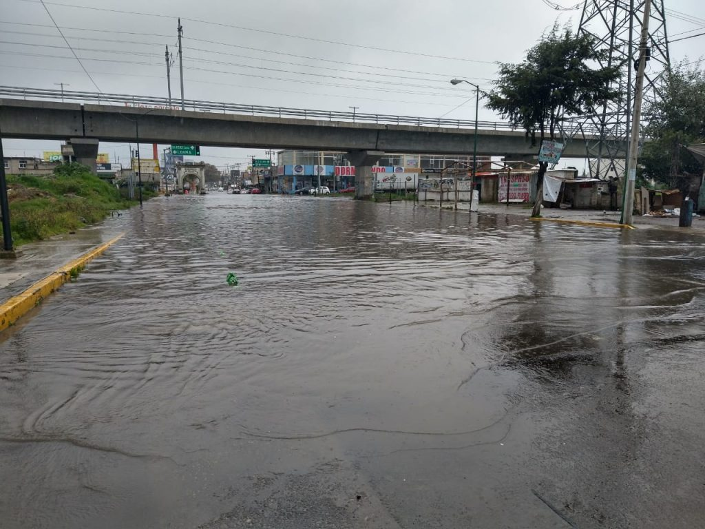 Se inunda San Mateo Atenco luego de las fuertes lluvias en el Valle de Toluca - Sep 16, 2020