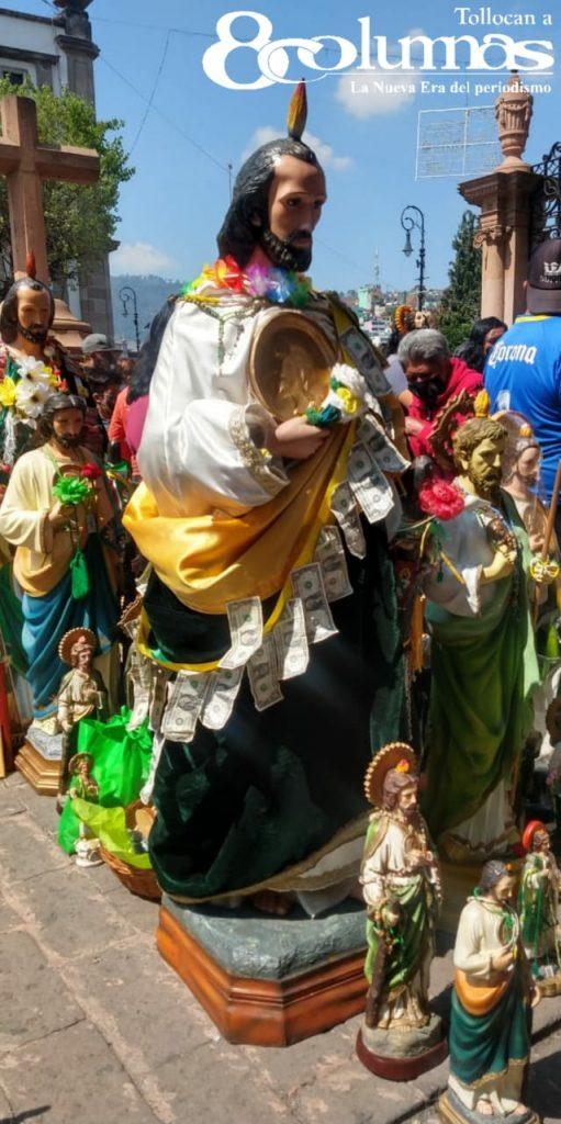 Pese a pandemia, creyentes festejan a San Judas Tadeo en Toluca - Oct 28, 2020