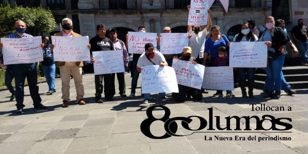 Integrantes de UPREZ exigen auditoría externa al ISSEMyM - Oct 22, 2020