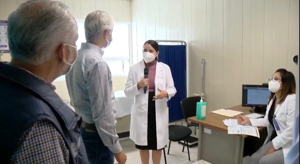 Reconoce Del Mazo respuesta de mexiquenses para vacunarse contra la influenza - Oct 15, 2020