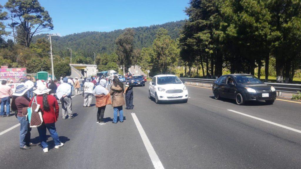 Liberan caseta de Tepotzotlán en la México - Querétaro - Oct 15, 2020