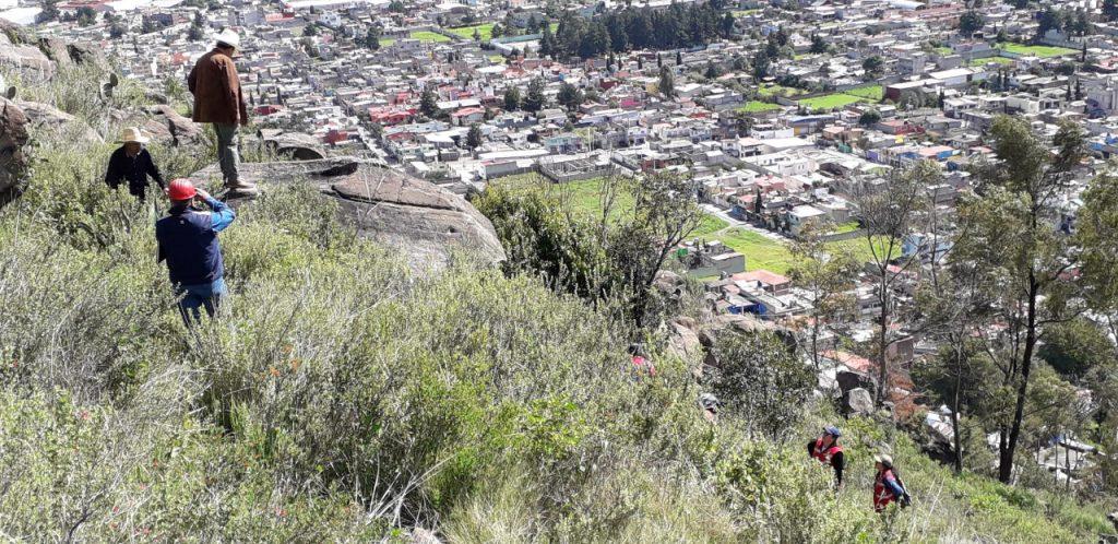 Identifican zona de riesgo por derrumbe en Santa Cruz Azcapotzaltongo - Oct 18, 2020