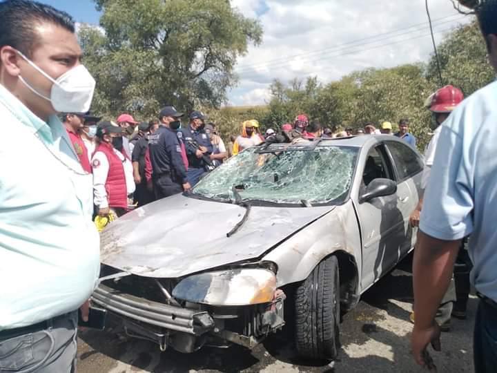 Rescatan cuerpos de hermanos que cayeron al río Lerma - Oct 21, 2020