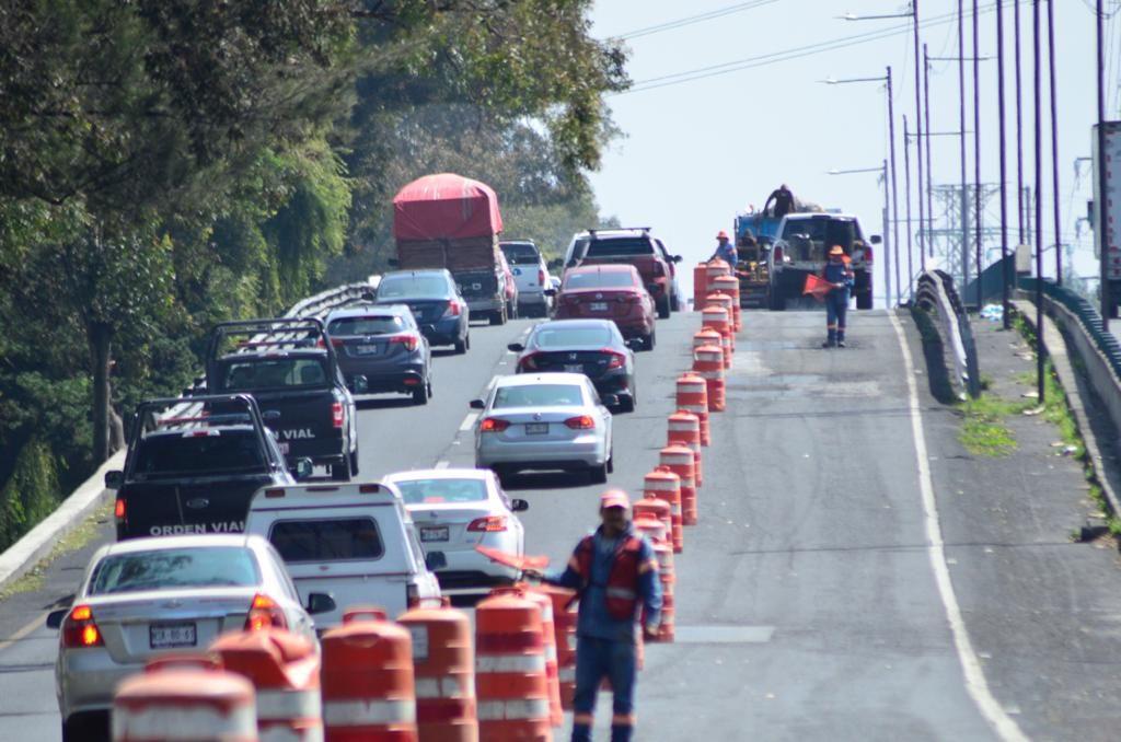 Aplauden mexiquenses obras de bacheo en Paseo Tollocan - Oct 14, 2020