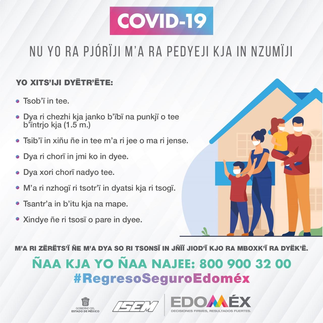 Publica GEM información acerca de COVID-19 en lenguas originarias - Oct 14, 2020