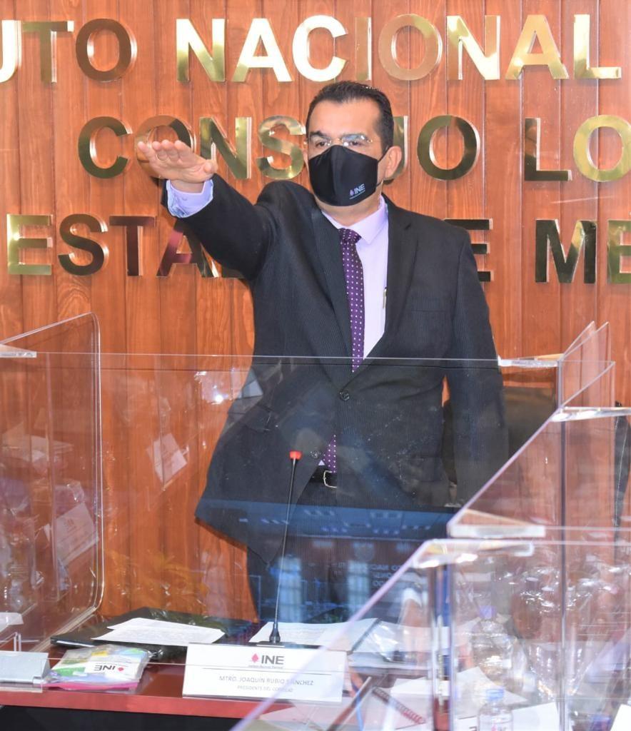 Instalan Consejo General de la Junta Local del INE Edomex - Nov 3, 2020