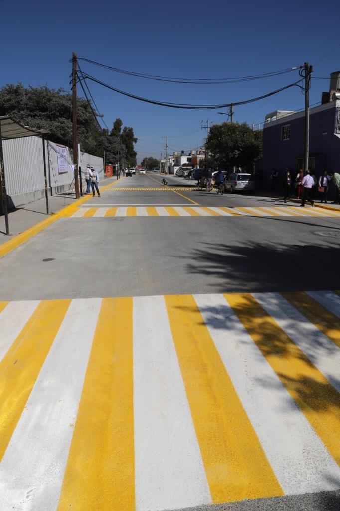 Entrega Ayuntamiento de Metepec obra en el fraccionamiento San José La Pila - Nov 11, 2020