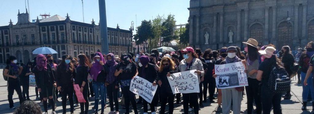 Marchan en Toluca para exigir justicia por feminicidios - Nov 11, 2020