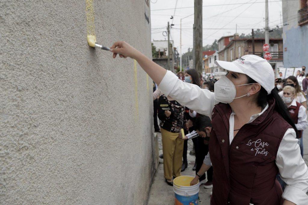 Rehabilita Gobierno de Metepec fachadas de los Barrios de San Miguel y Santiaguito - Nov 26, 2020