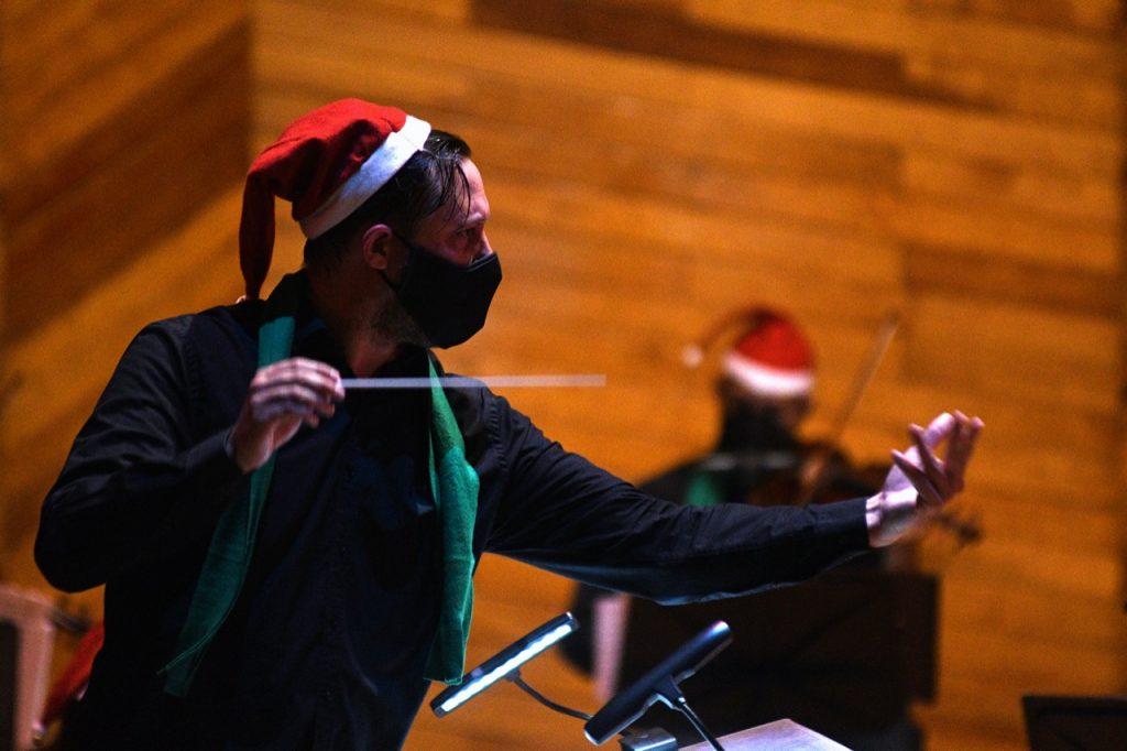 Culmina OSEM presentaciones de 2020 con un concierto navideño - Dic 13, 2020