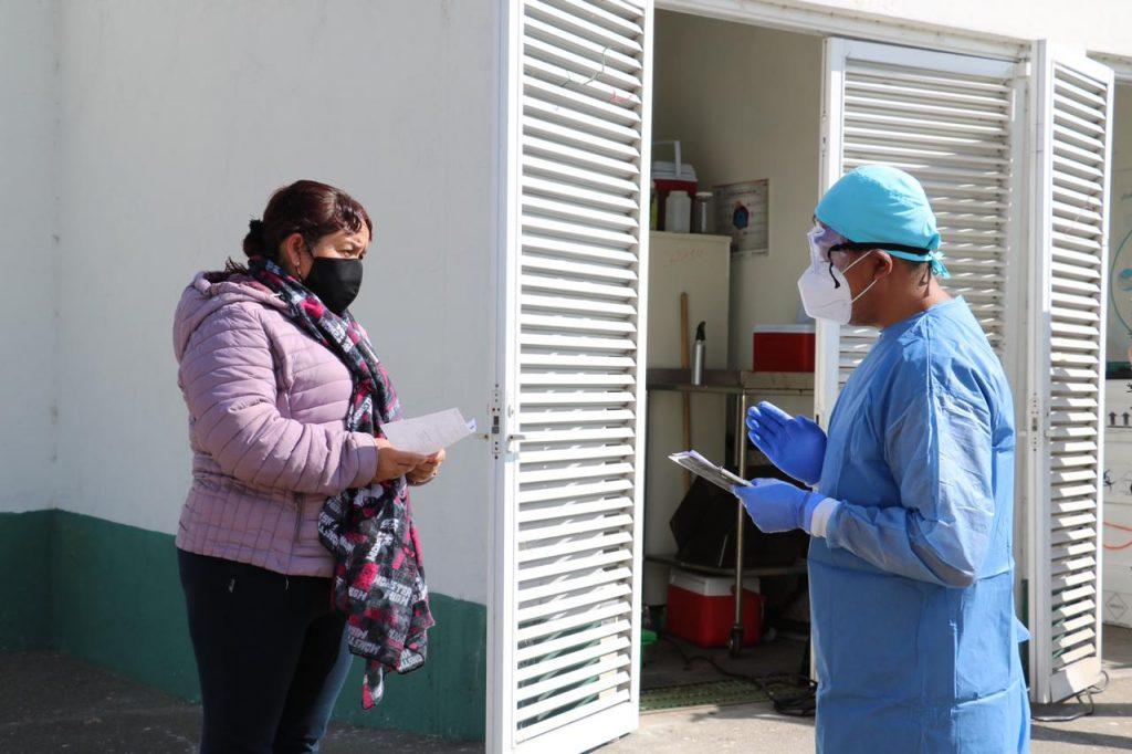 Implementa Edoméx 20 módulos para la aplicación diaria de 12 mil pruebas de detección contra Covid-19 - Dic 21, 2020