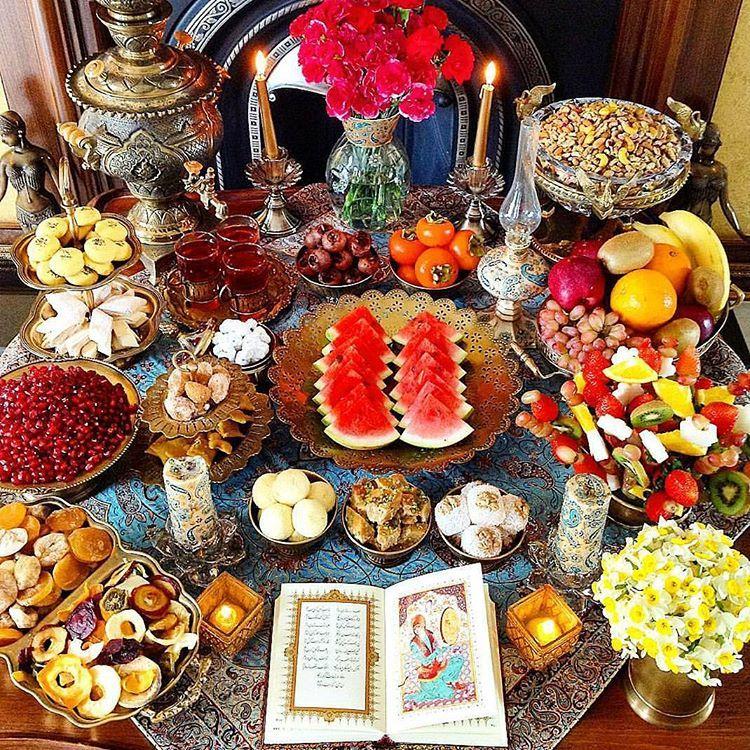 Festividades en diciembre: Shab-e Yalda - Dic 12, 2020