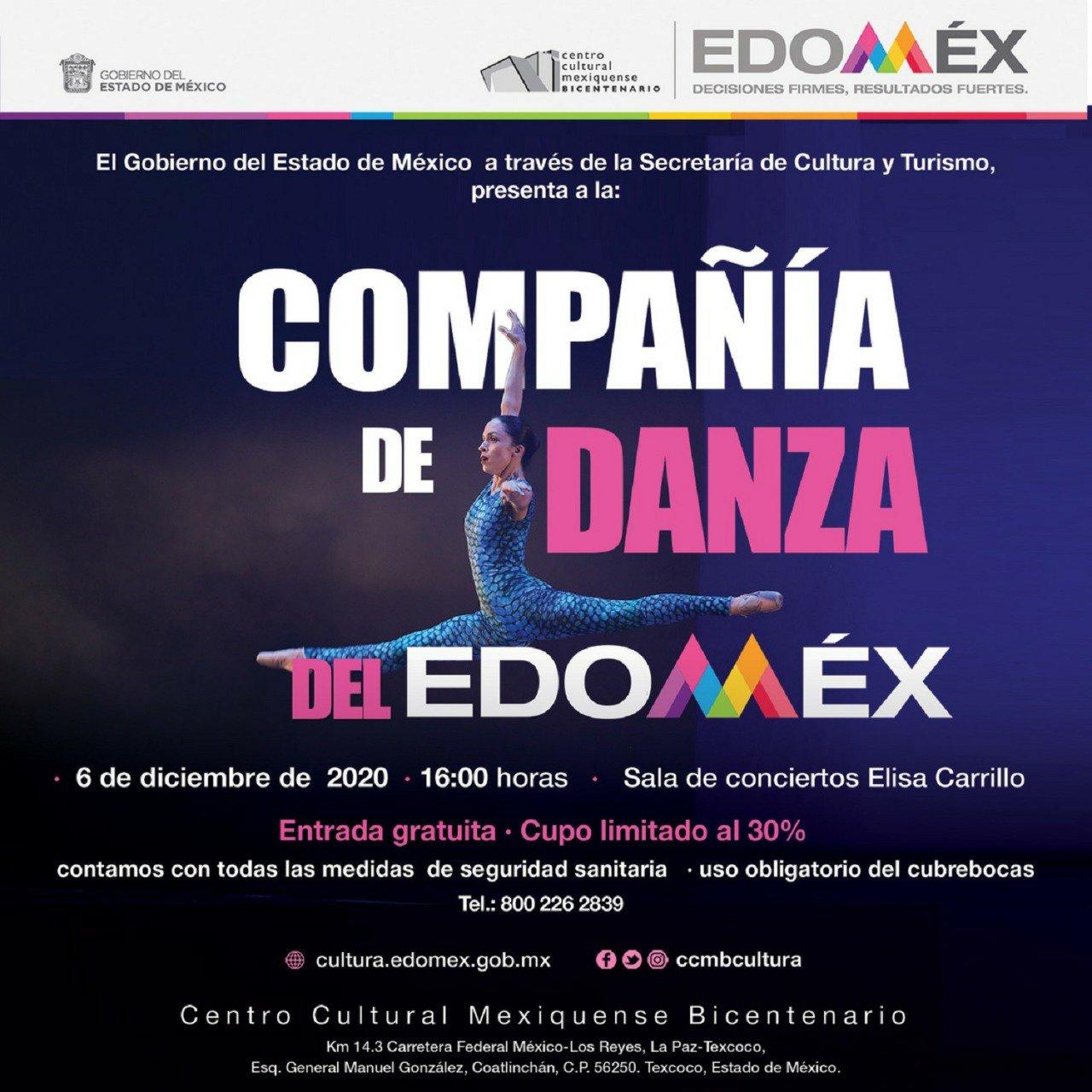 Inician actividades decembrinas en Centro Cultural mexiquense Bicentenario - Dic 3, 2020