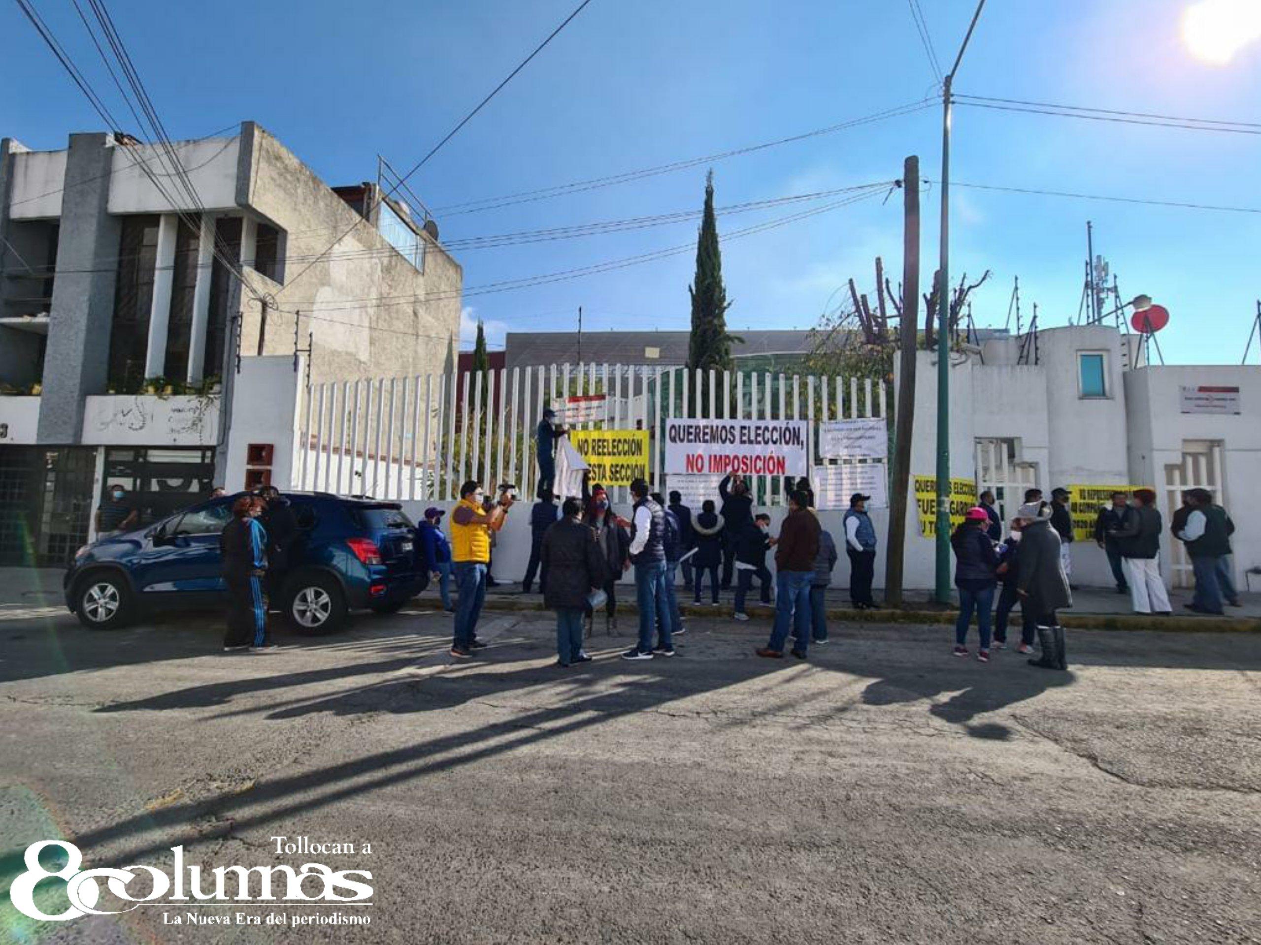Agremiados al SUTEyM-ISSEMyM exigen renovación de la actual dirigencia - Dic 2, 2020