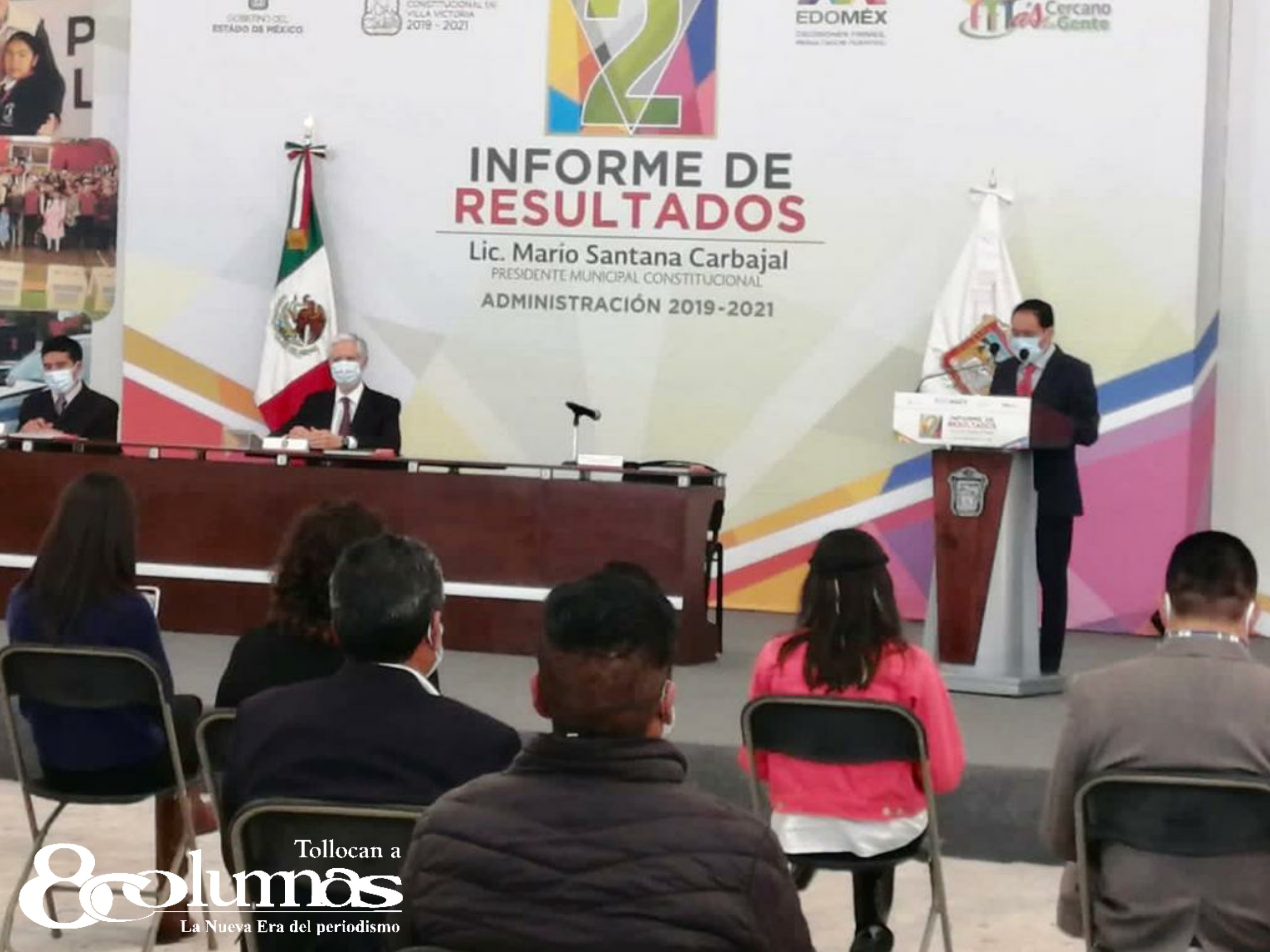 Pese a pandemia Edoméx continúa con apoyo e impulso a la población: Alfredo del Mazo - Dic 3, 2020