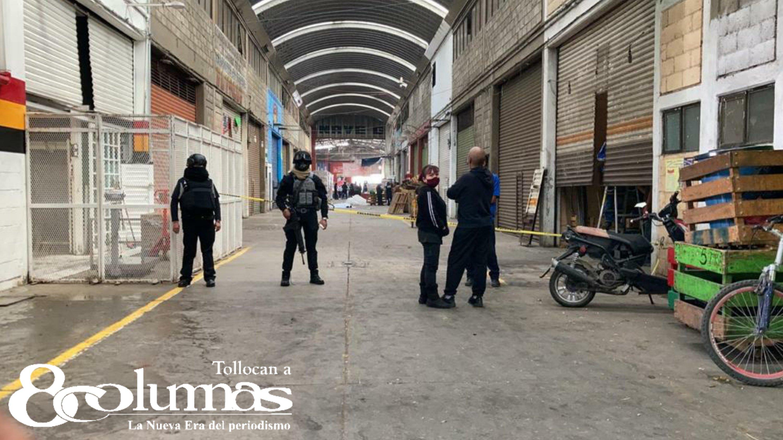 Asesinan a comerciante en la Central de Abastos de Toluca - Dic 9, 2020