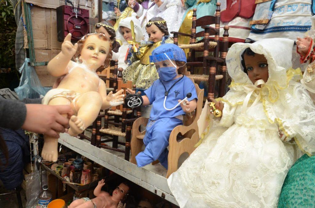 Este año por covid19, los niños Dios con mayor demanda son el doctor y de la salud - Ene 17, 2021