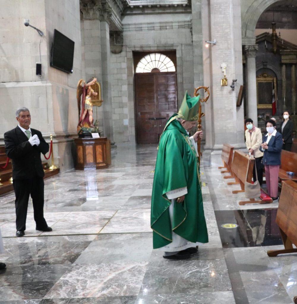 Pide Arquidiócesis de Toluca apoyo en especie para el Seminario Diocesano - Ene 17, 2021