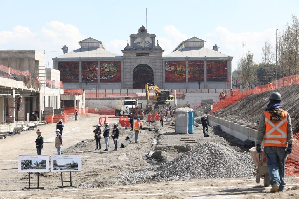 Supervisa Alfredo del Mazo construcción del Parque de la Ciencia de Toluca - Ene 18, 2021