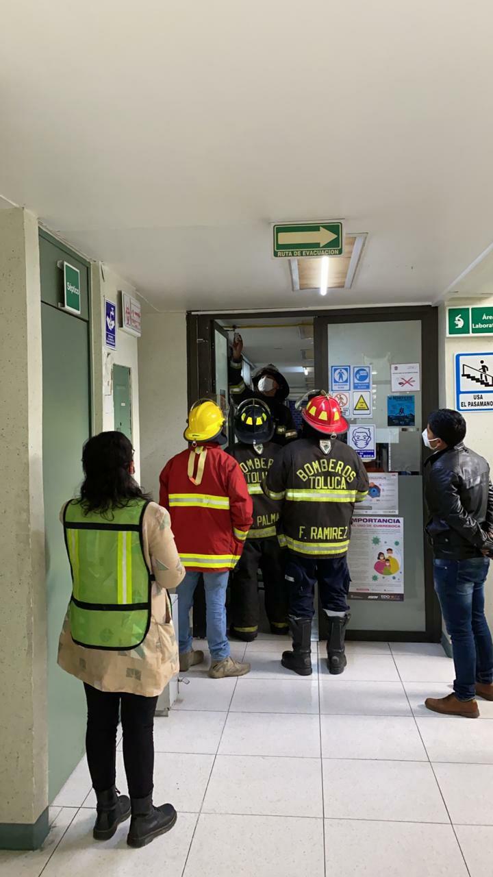 Desalojan Laboratorio Estatal de Salud Pública por fuga de gas - Ene 8, 2021