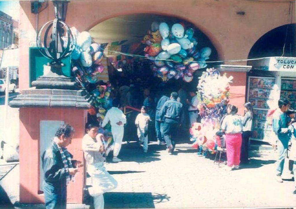 Son Portales de Toluca sitio emblemático de la capital mexiquense - Feb 6, 2021